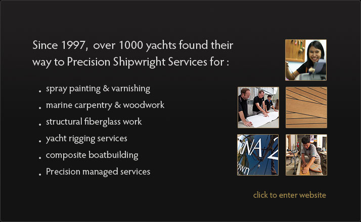 Stainless steel, aluminium or any other metal, the engineers of Precision Shipwright in Phuket can do all modifications and extensions to your yacht, boat or vessel. New construction or design available like cockpit and transom extensions. Repair and refit in all materials.